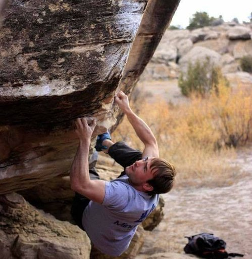 Bouldering in Triassic